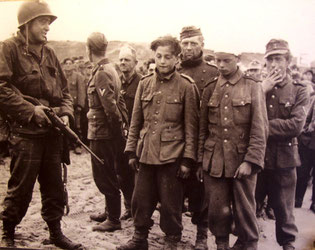 die Hälfte der Deutschen Soldaten waren gerade 18 Jahre jung