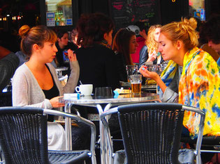 deutsche Studenten lieben Bordeaux
