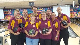 """Bowlingteam von GSBV Halle """"Striker´s Deaf"""""""