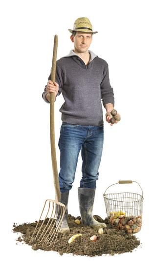 Christof Schramm Raritätenerdäpfel Landwirt