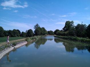 canal latéral à la Loire, écluse d'Herry