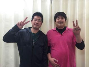 松山市腰痛専門整体お客様の声 中田先生と福本さん