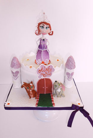 Sofia Die 1 Torte Fur Aisha 6 Danielas Cake Dream