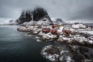Lofoten,reine,hiver,hauckland,Hamnoy,Ramberg