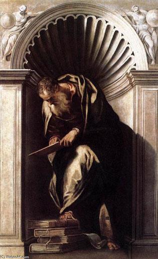 "Paolo Veronese, ""Aristotele"" (1560)"