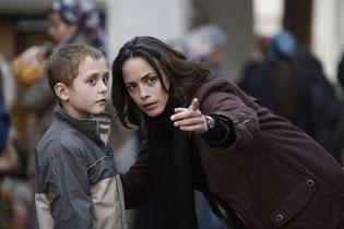 Berenice Bejo et Abdul Khalim Mamatsuiev (©La Petite Reine/ La Classe Américaine/ Roger Arpajou)