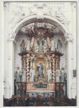 """Cover der Broschüre """"Der Benediktus-Altar in der Basilika von Waldsassen"""" von Gabriel Lobendanz."""