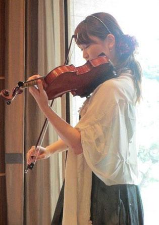 深澤彩 ヴァイオリン