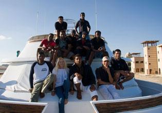 Crew Foto von 2009