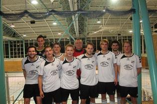 Erfolgreicher Ausflug in den Münchner Osten: Unsere 1. Mannschaft schied erst im Halbfinale aus.