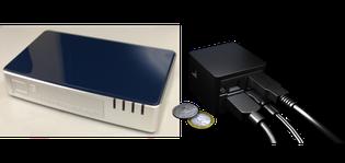 D3Plug(左)とCuBox(右)