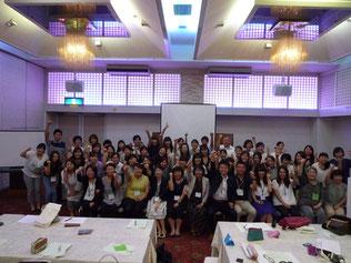 写真 「栃木県幼稚園連合会主催の教育研究大会からご指名を受け、2年連続で登壇した浪間亮講師」