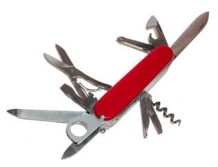 写真 「スイス・アーミーナイフ」