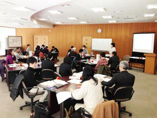 写真 「群馬県太田職業能力開発推進協議会からご指名を受けた塚原美樹講師のマインドマップ講座」