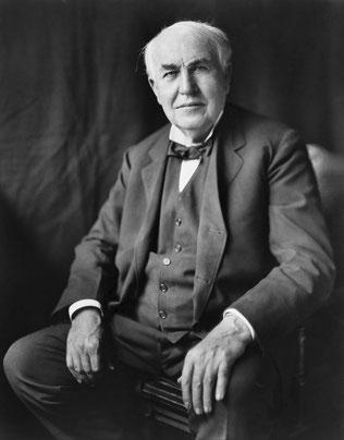 写真 「トーマス・エジソン (Thomas Alva Edison)」