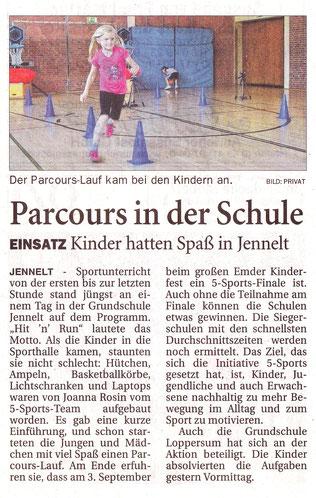 Ostfriesen-Zeitung 27.8.2016