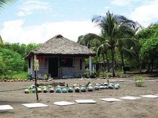 Strandhütte Arcas Guatemala