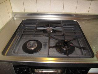 キッチンクリーニング(油汚れ、水垢)