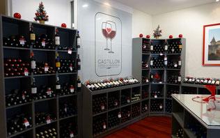 Vins des producteurs à la Maison des vins de l'AOC Castillon-Côtes de Bordeaux