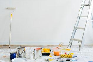 Renovierung, Streichen, Farbe