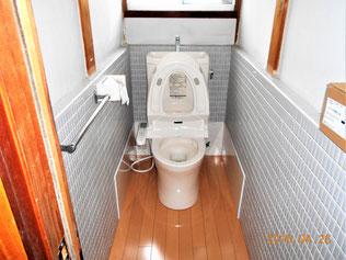 和域トイレを洋式トイレにリフォ-ム