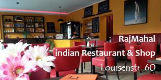 Gastraum von RajMahal - indian Restaurant & Shop (Louisenstr. 60, 01099 Dresden)