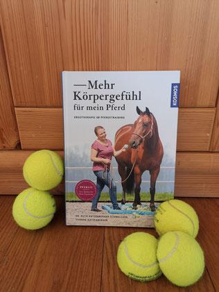"""Buchcover """"Mehr Körpergefühl für mein Pferd"""" von Ruth und Yvonne Katzenberger"""