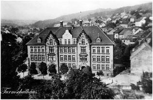 dudweiler, saarbruecken, schule, turmschule, grundschule, 1909