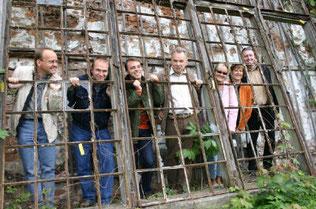 Hartmut Gölitz, Udo Blume, Thomas Grapentin, Diethelm Marche, Peter Räsch, Tom Zimmermann, Regine und Roland Schulze (v.r.n.l.) waren die Mitglieder der ersten Stunden.