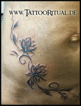 Tattoo Cover UP Narbe