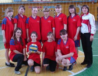 команда воллейболисток