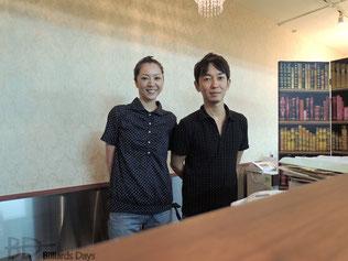 界敦康プロ&文子プロ夫妻