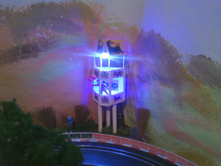 AGIP-Turm am gleichnamigen Kreisel