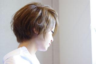 ダム 高石 美容室 KSHAIR 高石 カット カラー パーマ オージュア 美容室 美容院 泉大津 鳳 ks ショートパーマ