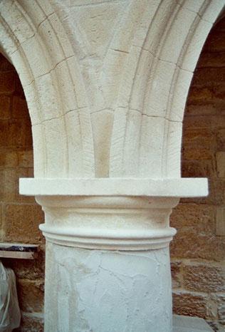 chapiteau-colonne-pierre-après-restauration-monument-historique