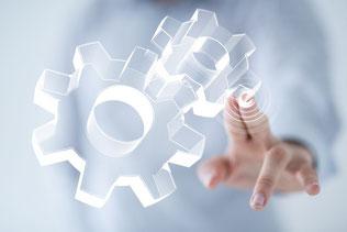 Projektunterstützung für Optimierung in der Industrie