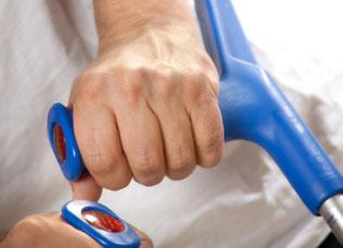 Gehhilfen fördern die individuelle Mobilität