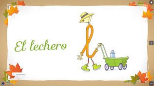 """EL LECHERO --> """"l"""""""