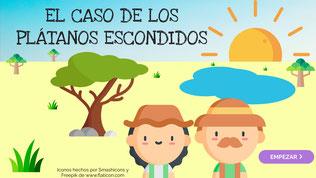 EL CASO DE LOS PLÁTANOS ESCONDIDOS
