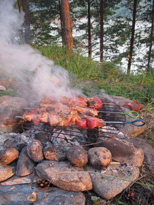 Chachlik dans l'altai