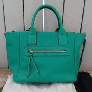 Handtasche - Shopper in kräftigem Mintgrün