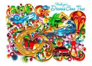 МСЛ  державнi лотереї України, квиллинг, quilling, графический квиллинг, graphic quilling