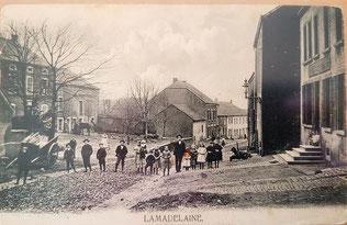 Famill Siedler-Maes emm 1904  Dem Webmaster Arend Claude seng Urgrouseltern