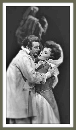 Mario Cavaradossi - TOSCA - con B. Nilsson - (New York 1968)