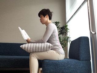 腰椎を守るために前傾姿勢
