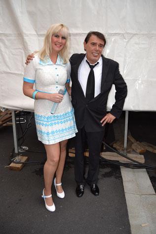 avec Bernard Alexandre (chante Brel) Octobre 2013