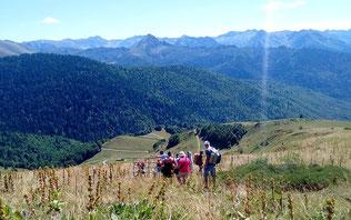 sortie randonnee journée découverte montagne ariege pyrenees
