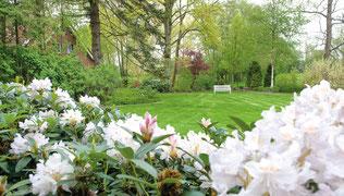 Unser Fotogarten für Bilder von Hochzeiten
