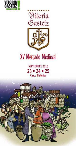Programa del Mercado Medieval de Vitoria