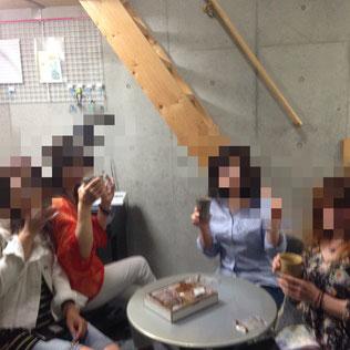 千種区婦人会お茶会写真|名古屋千種区長内音楽教室